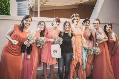 Irene y damas de honor
