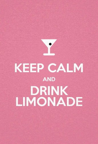keep calm and limonade