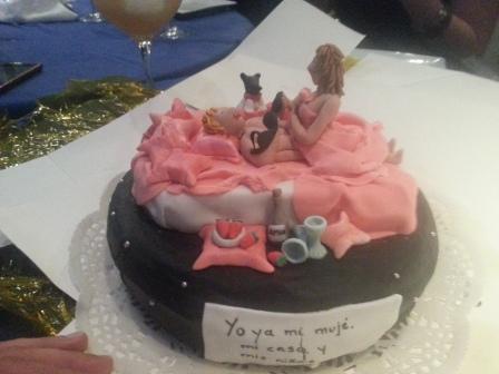 tarta despedida