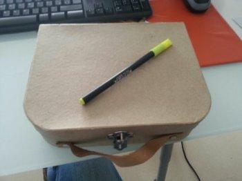 maleta de carton