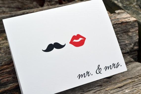 invitacion lips & mustache