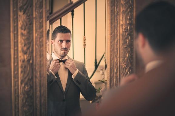 Alex en el espejo