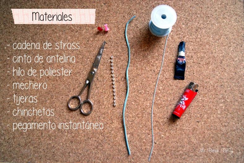 Materiales pulsera