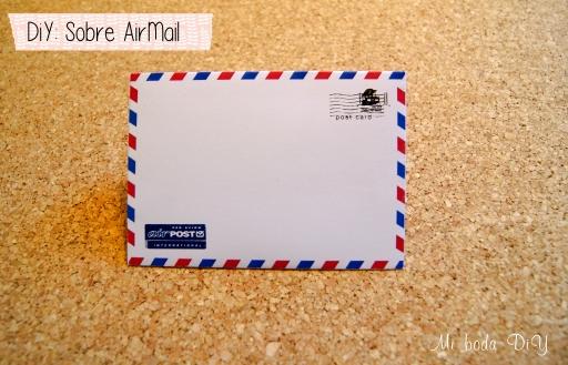 sobre airmail