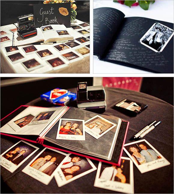 libro firma polaroid