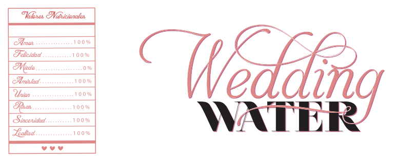 wedding water
