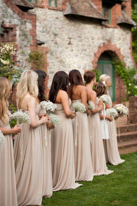 Damas de honor mi boda diy for Bridesmaid dresses for november weddings