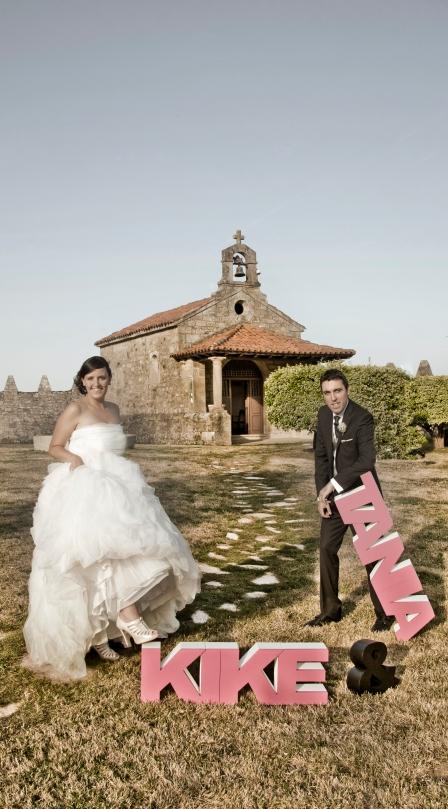 boda de tania y kike detras de una boda