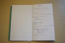 libreta organizadora de boda
