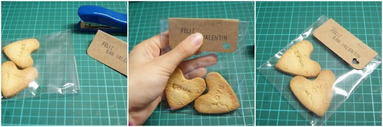 grapa etiqueta galletas