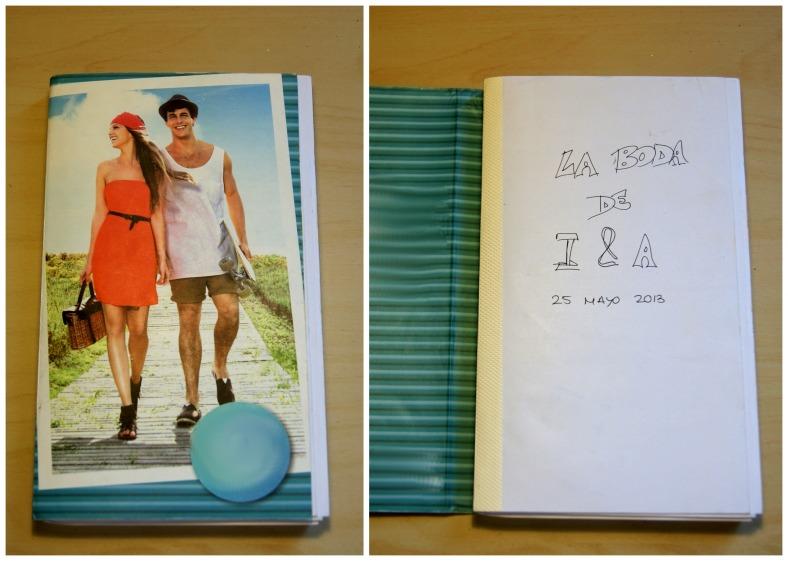 libreta organizacion boda