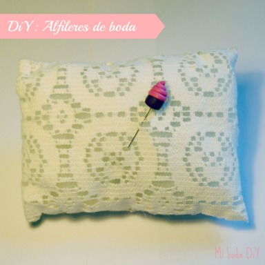 alfileres de boda diy