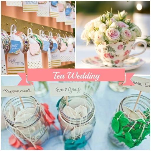 tea wedding