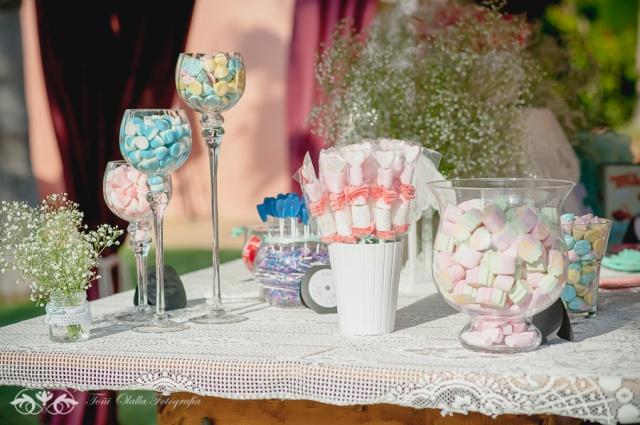 Candy bar algunas ideas for Copas y vasos para bar